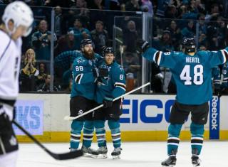 NHL Hockey Betting:  San Jose Sharks at Los Angeles Kings&h=235&w=320&zc=1